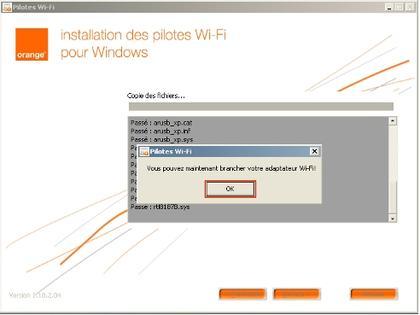 ordinateurs peripheriques installer et utiliser la connexion de votre ordinateur wifi d orange adaptateur installation