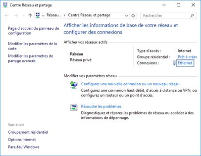 probleme carte ethernet windows 10 Windows 10 : vérifier le débit de votre carte réseau Ether