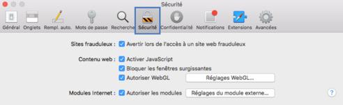 Safari Mac Autoriser Les Fenêtres Pop Up Assistance Orange
