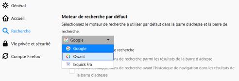 Mozilla Firefox Gerer Les Moteurs De Recherche