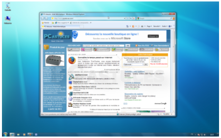 Windows 7 g rer l affichage des fen tres assistance orange for Raccourci clavier agrandir fenetre windows 7