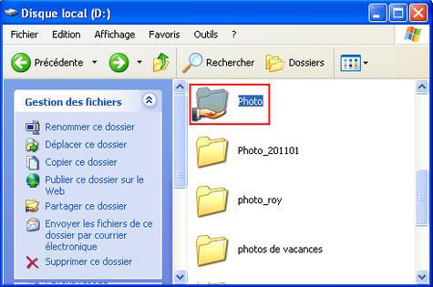 windows xp partager vos fichiers assistance orange. Black Bedroom Furniture Sets. Home Design Ideas