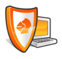icône de l'antivirus orange pro v8