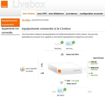 windows 7 acc der au diagnostic r seau la livebox et internet depuis le centre r seau et. Black Bedroom Furniture Sets. Home Design Ideas