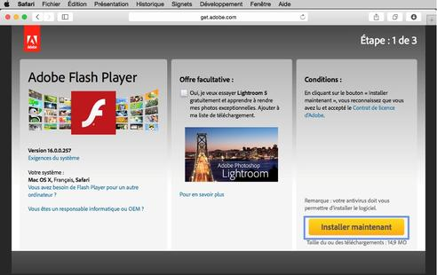 telecharger adobe flash player 10.1 gratuit