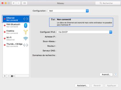 booster la connexion internet mac