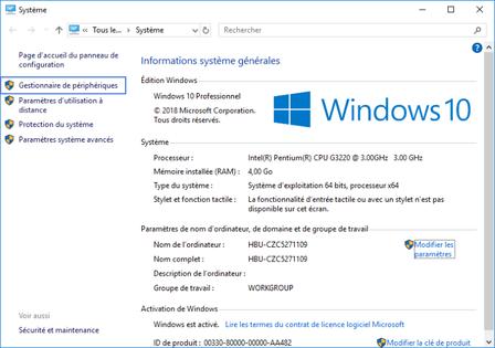 probleme carte ethernet windows 10 Windows 10 : réactiver une carte réseau   Assistance Orange