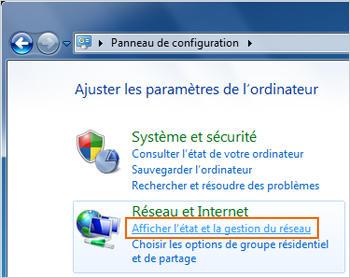 Windows 7 configurer un ordinateur avec une adresse ip - Ordinateur de bureau configuration sur mesure ...