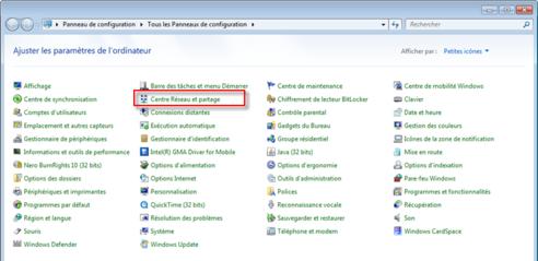 activer carte wifi windows 7 Windows 7 et Vista : vérifier la configuration wifi   Assistance
