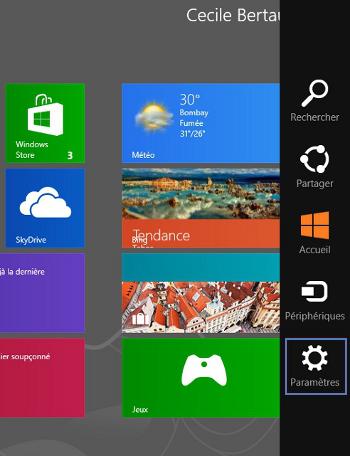 Windows 8 : se connecter en wifi à la Livebox