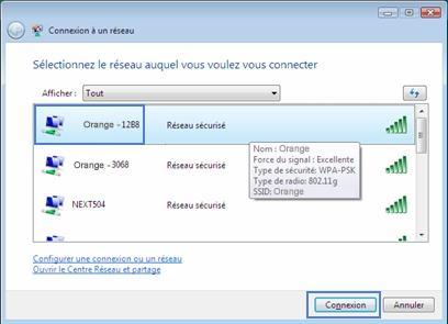 Windows Vista   se connecter en wifi à la Livebox - Assistance Orange 4dfaf3a72f7e