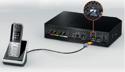 t l phone par internet brancher sur la livebox pro v3 assistance orange. Black Bedroom Furniture Sets. Home Design Ideas