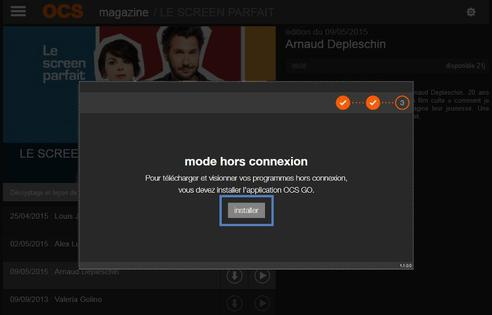 Ocs pc mac installer le player ocs go assistance for Fenetre hors ecran