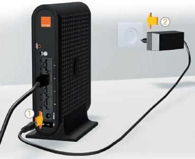 Liveplug wifi solo brancher sur votre d codeur tv assistance orange - Installation decodeur orange ...