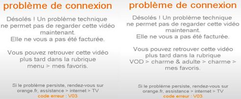 Tv d 39 orange code erreur v03 assistance orange - Code erreur s04 03 ...