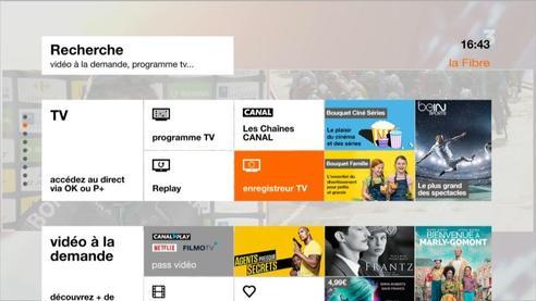 D codeur tv 4 menu d 39 accueil blanc programmer un - Changer telecommande orange ...