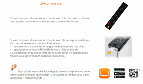 d codeur livebox play mettre en service la tv d 39 orange assistance orange. Black Bedroom Furniture Sets. Home Design Ideas