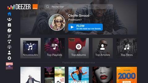 Decodeur Tv Uhd Ecouter De La Musique Avec Deezer Assistance Orange