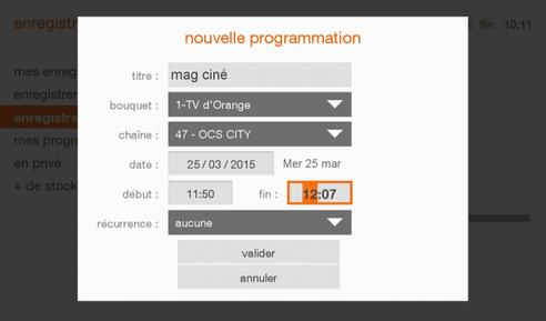 programm tv orange