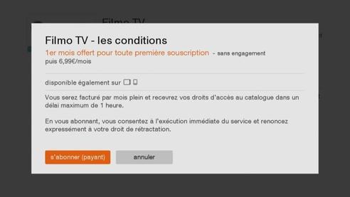 D codeurs livebox play et tv 4 souscrire au pass vid o depuis votre t l viseur assistance orange - Comment avoir tv orange sur plusieur tv ...