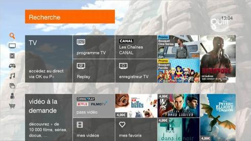 D codeur uhd 86 87 90 regarder un programme tv d j - Installer portail orange sur le bureau ...