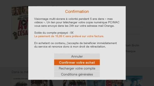d codeur livebox play acheter une vid o la demande assistance orange. Black Bedroom Furniture Sets. Home Design Ideas