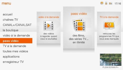 tv d orange par satellite utiliser votre pass vid o. Black Bedroom Furniture Sets. Home Design Ideas