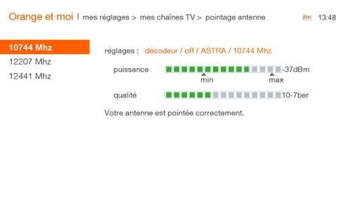 tv d 39 orange par satellite r orienter votre antenne sur le satellite astra assistance orange. Black Bedroom Furniture Sets. Home Design Ideas