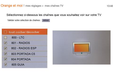 tv d orange par satellite personnaliser le choix des. Black Bedroom Furniture Sets. Home Design Ideas