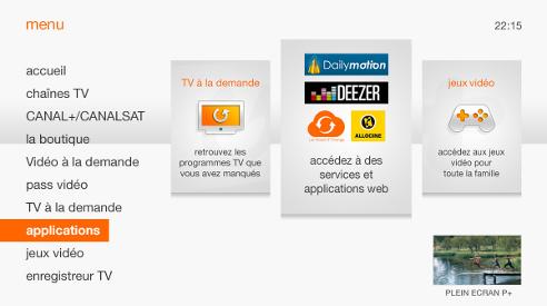 Tv d 39 orange couter de la musique avec orange radio - Application telecommande orange ...
