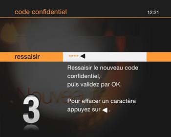 tv d 39 orange par satellite r initialiser votre code. Black Bedroom Furniture Sets. Home Design Ideas