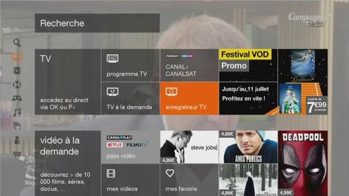 D codeur tv 4 programmer un enregistrement tv - Application telecommande orange ...