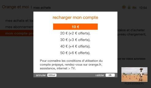 d codeur uhd86 87 90 recharger votre compte pr pay assistance orange. Black Bedroom Furniture Sets. Home Design Ideas
