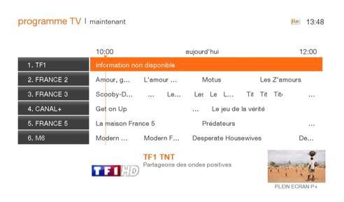 tv orange programme
