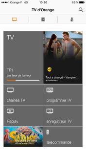 Application Tv D Orange Ios Utiliser La Fonction Voir Sur La Tv