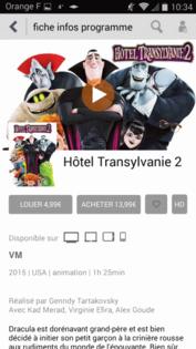 Application Tv D Orange Android Louer Ou Acheter Une Video A La