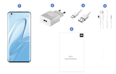 Xiaomi Mi 10 5G, contenu du coffret.