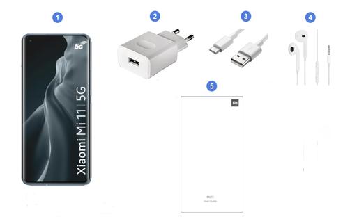 Xiaomi Mi 11 5G, contenu du coffret.
