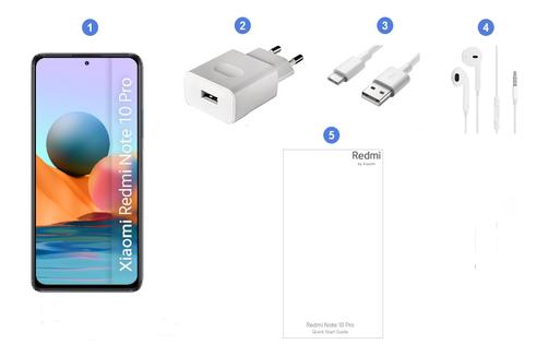 Xiaomi Redmi Note 10 Pro, contenu du coffret.