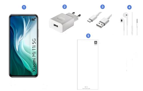 Xiaomi Mi 11i 5G, contenu du coffret.
