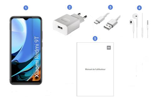 Xiaomi Redmi 9T, contenu du coffret.