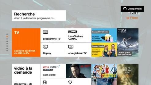 Sélectionner TV accédez au direct