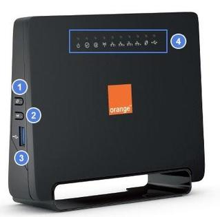 Modem ADSL 2104 - face avant