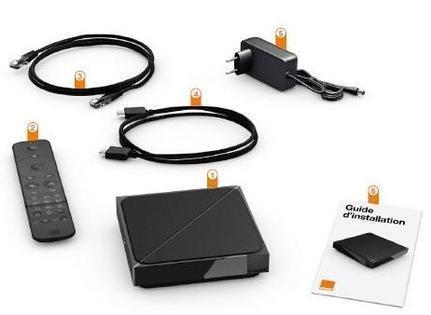 Pack décodeur TV UHD