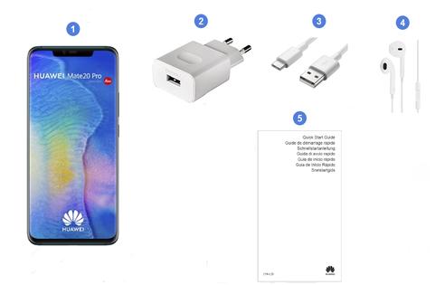 Huawei Mate 20 Pro, contenu du coffret.