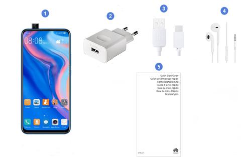 Huawei P Smart Z, contenu du coffret.