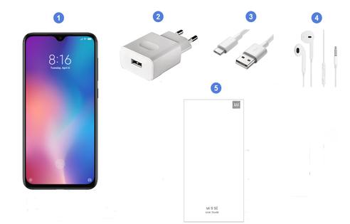 Xiaomi Mi 9 SE, contenu du coffret.