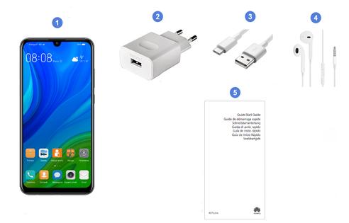 Huawei P Smart 2020, contenu du coffret.