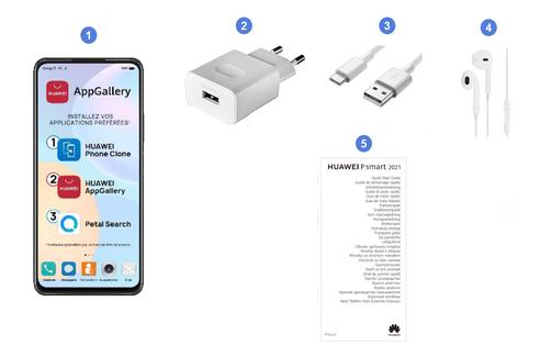 Huawei Psmart 2021, contenu du coffret.