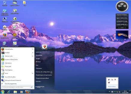 Bureau de Windows 7